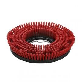 Cepillo rojo circular medio, BDS 33mm.