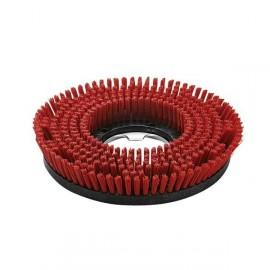 Cepillo circular rojo medio BDS 430 mm