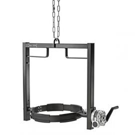 Vaciado con grúas y carretillas elevadoras Karcher