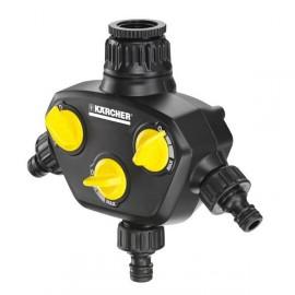 Conector para grifo tres vías Karcher